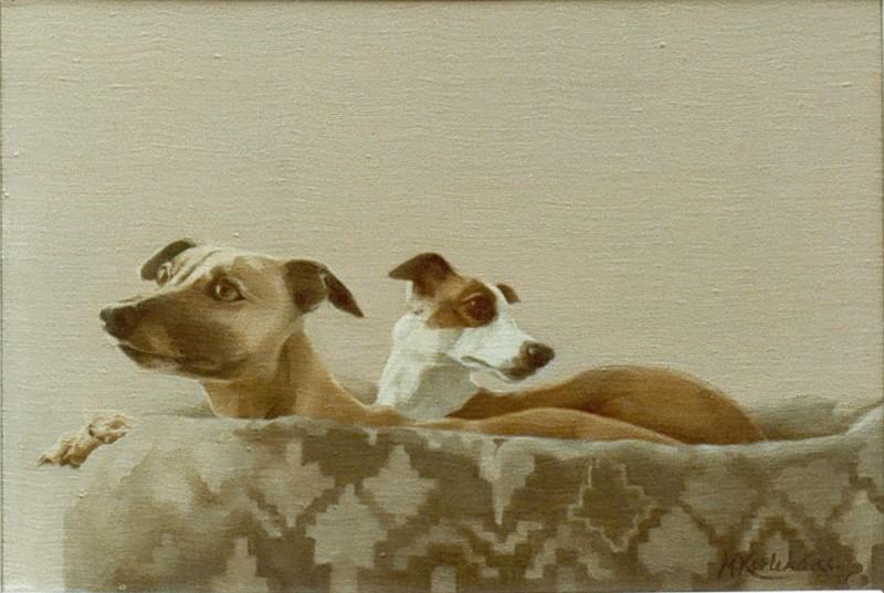 hondenportret in opdracht